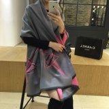 형식 여성 새로운 긴 격자 무늬 스카프 모조 캐시미어 천 숄