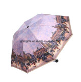 일요일 우산 떨어져 겹켜 직물 창조적인 70%