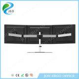 Étalage d'écran d'ordinateur du support trois de Jeo 15 '' - 27 '' pouces 180 canalisation verticale réglable de moniteur de bride de bureau de la hauteur Ys-MP230SL d'émerillon de degré