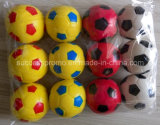 بايسبول يشكّل [بو] زبد مضادّة إجهاد كرة مع علامة تجاريّة طباعة