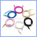 3.5mm Braided Auxillary Aux Audio Music MP3 Cable Cord Male zu Male Car