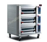 تجاريّة مخبز تجهيز [3-دك] محترفة فرن كهربائيّة تحت مع [س]
