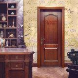 Puerta de oscilación interior de madera moldeada de la melamina del diseño (GSP12-012)