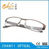 Form Voll-Rahmen Titanbrille Eyewear optische Glas-Rahmen (9204)