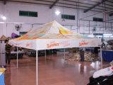 3X6mの黄色の屋外の鉄骨フレームの折るテント