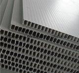 Transparentes und rosafarbenes pp.-Plastikblatt, Correx, Corflute, Coroplast Hersteller mit dem Stempelschneiden für Schutz
