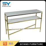 Modern Funirute Marble Top Console Table