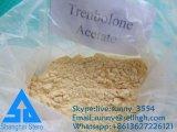 Polvo esteroide sin procesar Trenbolone Acetae del 99% con la salida segura Tren a