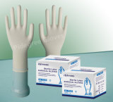 使い捨て可能な乳液の外科生殖不能の手袋の粉280mm