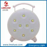 8 PCS 재충전용 긴급 SMD LED 테이블 빛