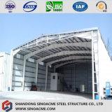 Magazzino prefabbricato/gruppo di lavoro/costruzione della struttura d'acciaio dell'ampia luce