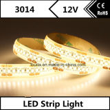Tira flexible estupenda del brillo LED del blanco 3014 calientes