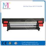 UV 인쇄 기계 Withgen5 Printhead Mt Softfilm3207 UV 판매를 위한 알루미늄 기치 인쇄 기계를 구르는 3.2m 롤
