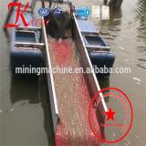 &#160 ; Dragueur d'or d'exploitation de sable d'utilisation de fleuve