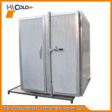 Piccolo forno industriale elettrico della pittura della polvere dei due portelli