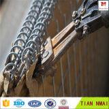 Воискаа используют защитные стены/барьеры бастиона Hesco