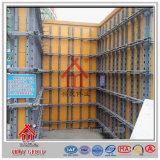 Sistema usado anticorrosión del encofrado de la pared para el trabajo concreto
