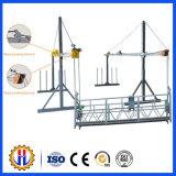 Kundenspezifischer Aluminiumstahl verschobene Arbeitsbühne-hängende Gestell-Systeme