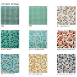 Pool Background Art Design Glass Mosaic