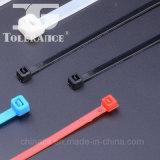 Atadura de cables plástica de autoretención de nylon