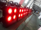Luz principal movente do diodo emissor de luz da matriz 25PCS profissional para a mostra do partido