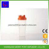 frasco plástico do abanador da agitação da proteína do frasco 600ml