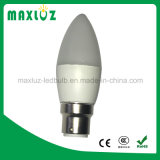 bulbos de la vela de 3W C37 E27 LED con 220V