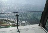 ステアケース階段柵のためのステンレス鋼の手すりの適切なガラスクランプ