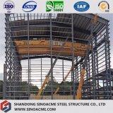 Usine préfabriquée de structure métallique avec les étages multi