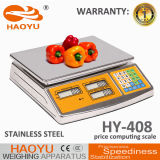 Het Roestvrij staal die van Haoyu de Digitale Schaal van de Gegevensverwerking van de Prijs huisvesten