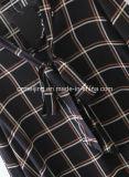 نسيج مربّع نساء `[س] قميص ثوب