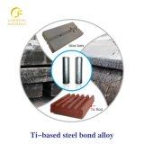 para las altas piezas del desgaste de la pista de martillo del acero de manganeso, piezas insertas de Tic