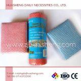 Wipes non tessuti della cucina di Spunlace di uso quotidiano di alta qualità, Dishcloths a gettare