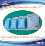 Spugna medica chirurgica 100% del giro della garza di alta capacità di assorbimento del cotone