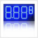 Зеленый цвет 12 /Diesel топливного горючего масла/7 этапов газ 8 '' 8.889/10 номеров СИД цифров/масло/экран доски знака индикации цены бензозаправочной колонка