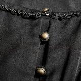 Py 192 Lolita 사랑스러운 복장 포도 수확 작풍 투명한 소매 긴 레이스 복장