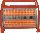 Calefator de quartzo do calefator elétrico com o ventilador com 1600W