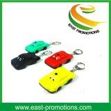 Fördernde Taschenlampen-Schlüsselkette des Geschenk-LED mit einbrennendem Firmenzeichen