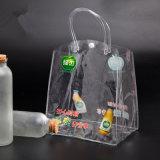 شفافيّة ليّنة [بّ] مستحضر تجميل حقائب مع مقبض بلاستيكيّة