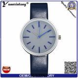 Yxl-394 매력 형식 좋은 품질 스테인리스 숙녀 시계 가죽끈 호리호리한 손목 시계 석영 여자 시계