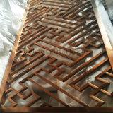 Écran de diviseur de pièce d'acier inoxydable de fini de miroir de couleur d'or de Construction Decoration Company