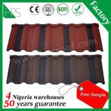 Afrika Hot Koop dakbedekking Fashion Kleurrijke Stone Coated Metal Dakpannen