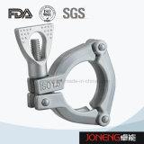 Tri-Abrazadera sanitaria del acero inoxidable (JN-CL2001)