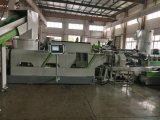 Máquina de reciclaje plástica del estirador y película plástica que reciclan la máquina