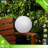Color que cambia la bola del LED / la luz solar de la bola del LED