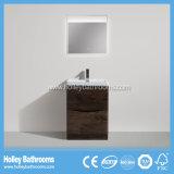 Assoalho moderno do estilo - vaidade montada do banheiro com lâmpada do diodo emissor de luz (BF317D)