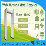 Portable 6 지역 Walk-Through 금속 탐지기 스캐닝 탐지 장비