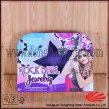 Eleganter Pappkoffer geformter Geschenk-Kasten mit tragendem Griff