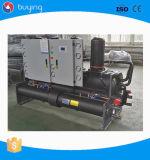 Doppelter Kompressor-schraubenartiger wassergekühlter Wasser-Kühler 250HP
