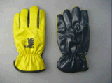 Le plein hiver acrylique Glove-5403 de pile stratifié par nitriles